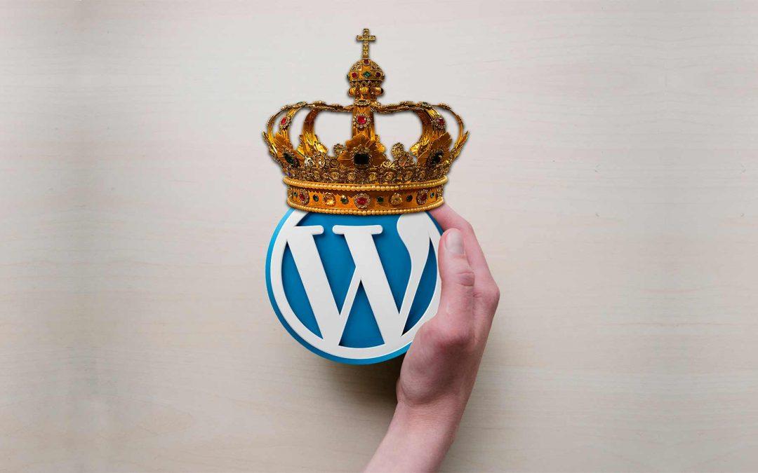 WordPress: El rey de las Webs